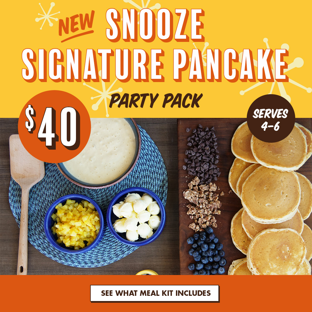 Snooze Signature Pancake Party Pack