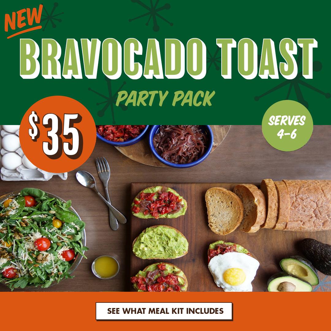 BRAVOcado Toast Party Pack