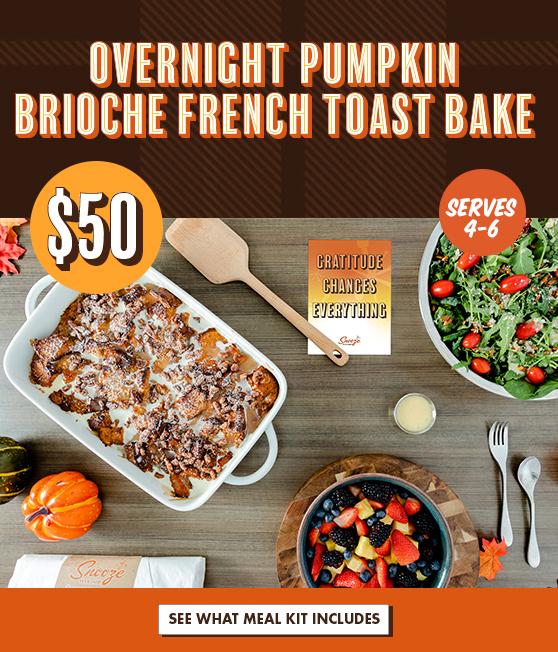 Overnight Brioche French Toast Bake $50