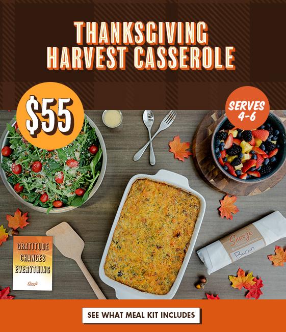 Thanksgiving Harvest Casserole $55