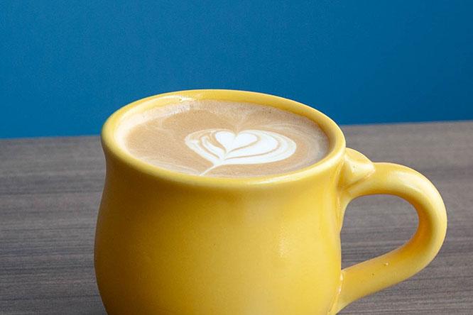 Honey Oat Milk Latte