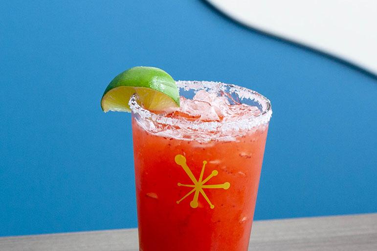 Strawberry ShortKICK Margarita