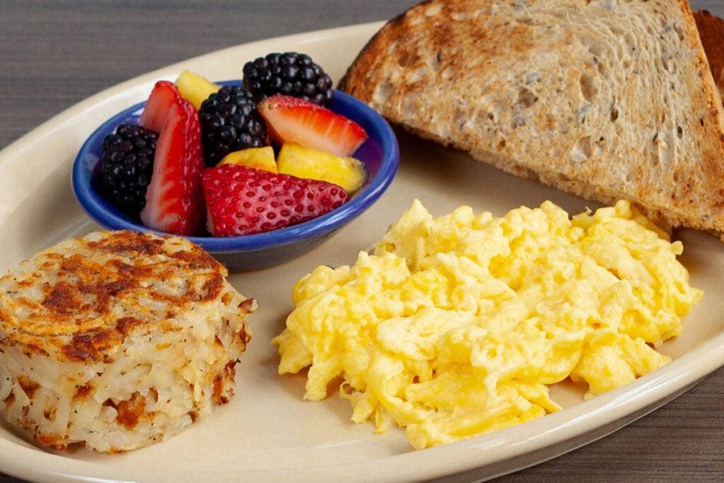 Kids Scrambled Eggs & Toast