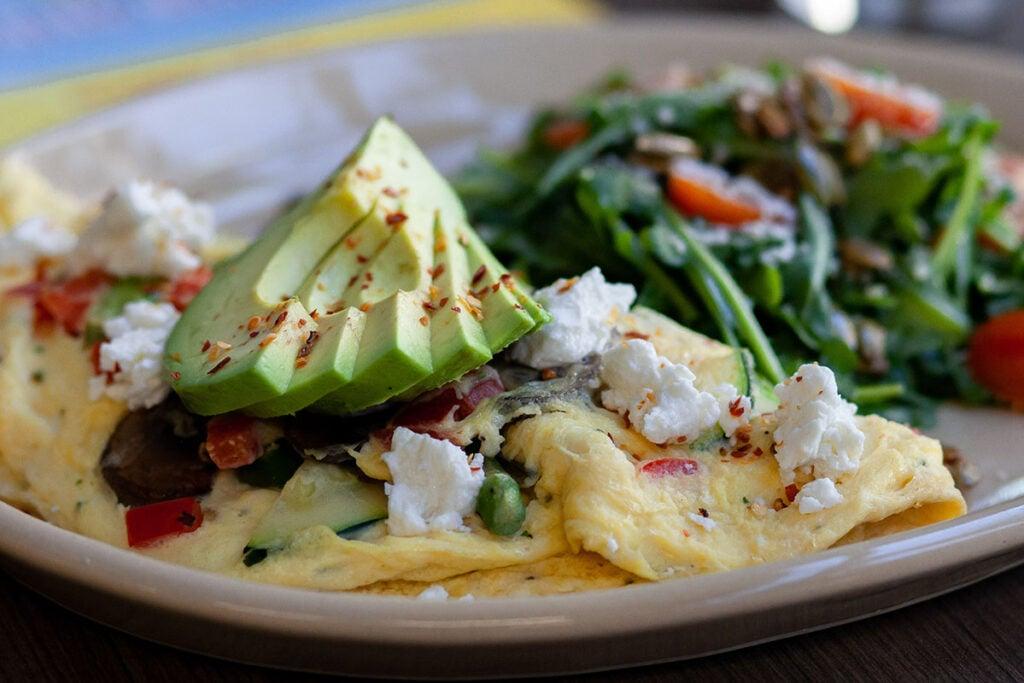 Garden Harvest Omelet