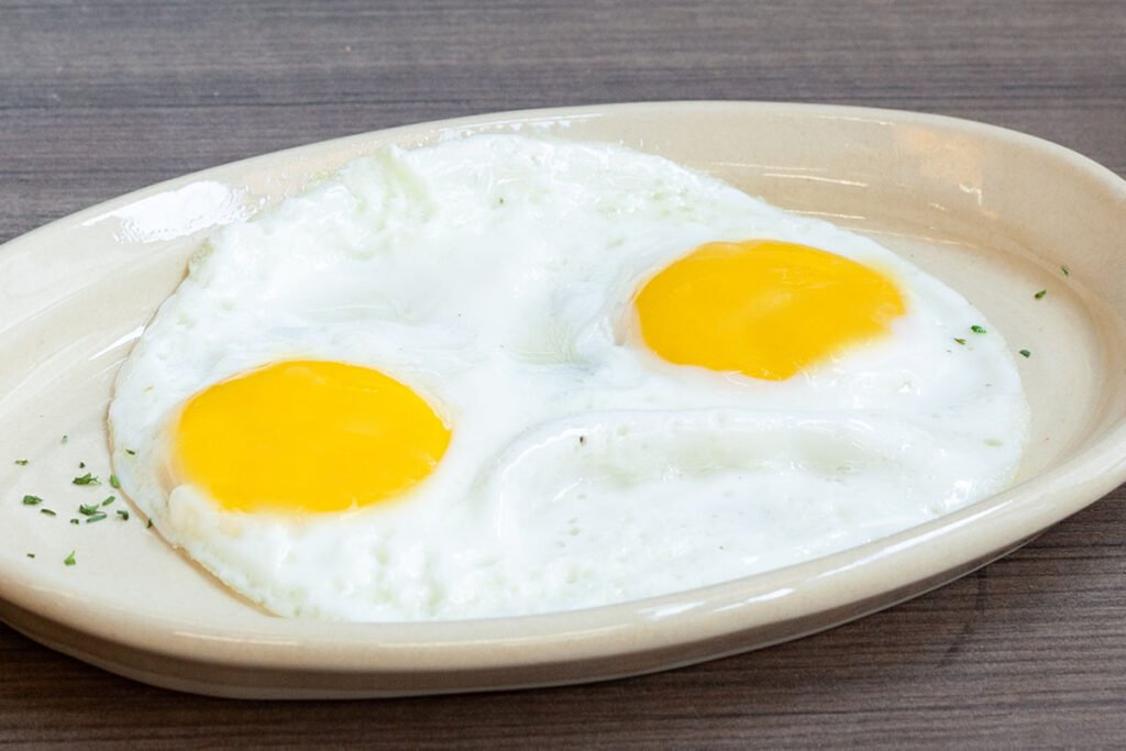 Two Cage Free Eggs