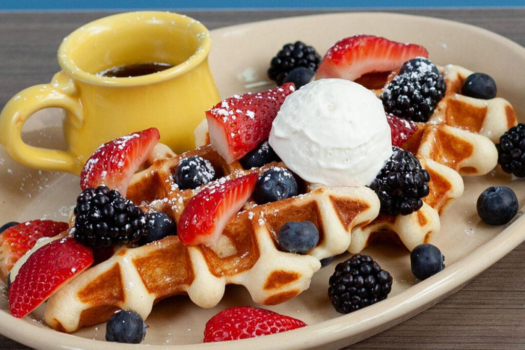 Waffles N' Berries