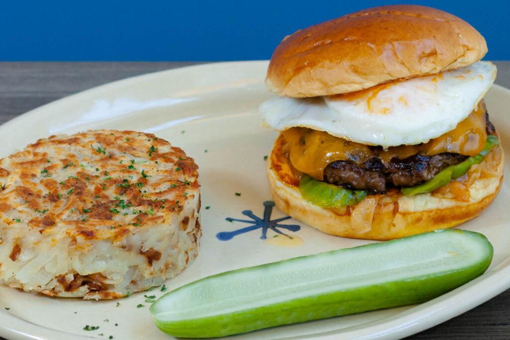Breakfast Brioche Burger