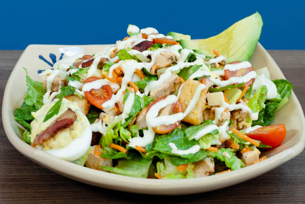 Grilled Chicken Chopped Salad
