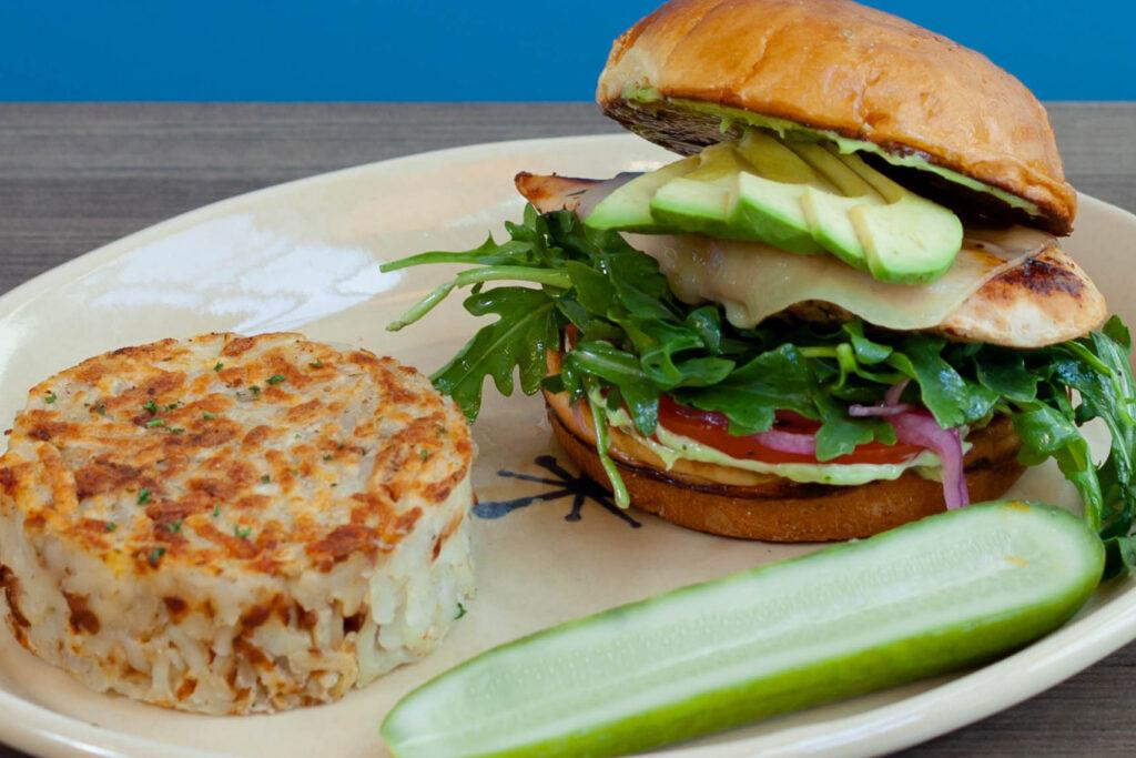 Grilled Chicken & Avocado Sandwich